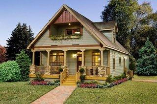 Casa rustica cu mansarda