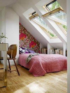 Dormitor mic mansarda