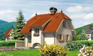Casa mica cu etaj