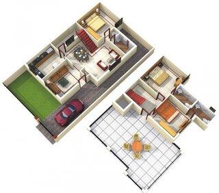 Compartimentare casa cu etaj
