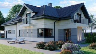 Model casa pe doua nivele