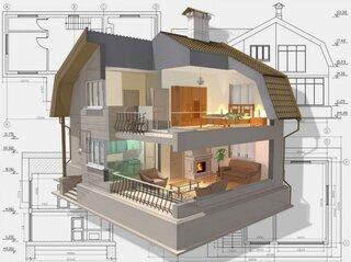 Plan vertical casa cu etaj