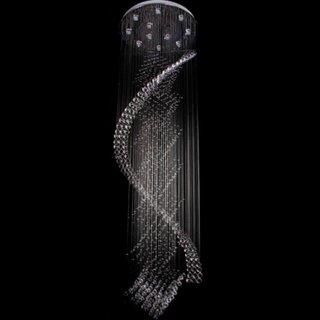 Corp de iluminat cu multe cristale agatate