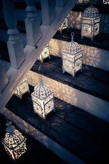 Felinare decorative pentru treptele scarii