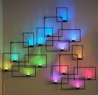 Joc geometric de culori si umbre