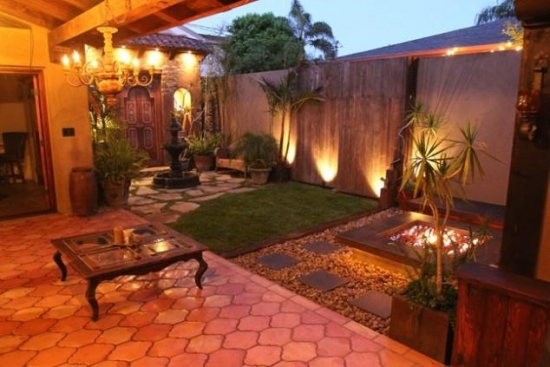 Idee pentru luminarea terasei pe timp de seara