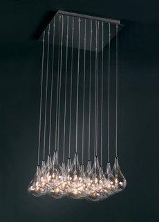 Corpuri de iluminat simple agatate de tavan