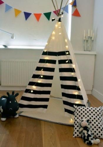 Loc de joaca pentru copii amenajat in casa