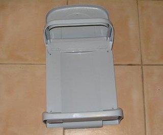 Cos de gunoi inainte de montare