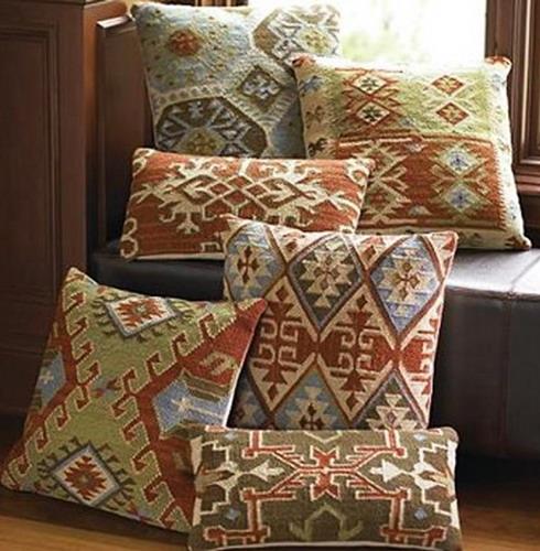 Perne decorative din chilim