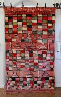Covor stil berber shaggy