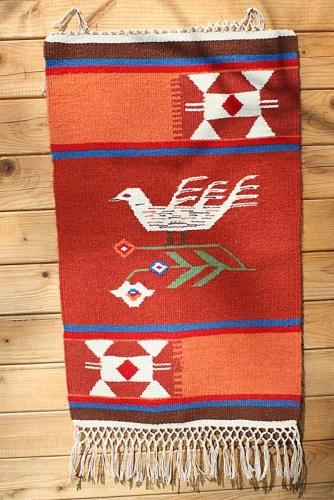 Carpeta din lana pe urzeala de bumbac
