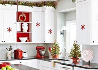 Cum sa decoram bucataria pentru Craciun