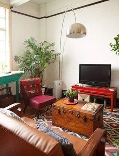 Interior in stil vintage