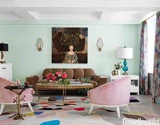 Living in culori pastel inspirat de Renastere