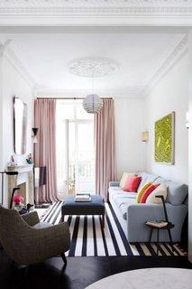 Alegere culori pentru living ingust si lung