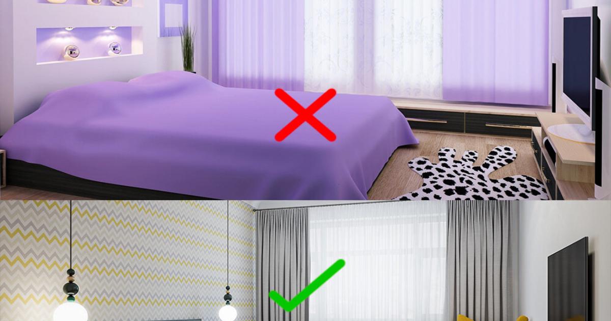 Stii care sunt culorile perfecte pentru amenajarea unui dormitor ? SUNT 4 culori care nu se recomanda CATEGORIC