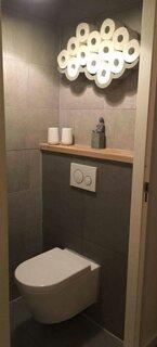Toaleta de serviciu culoare inchisa