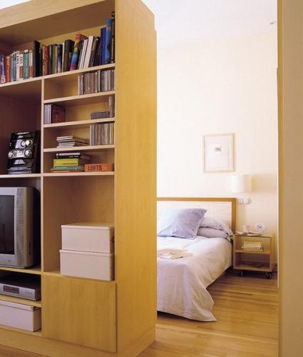 Impartire a unei camere in doua cu ajutorul unui sifonier