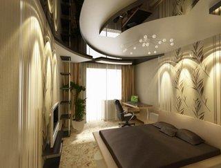 Birou amenajat in dormitor