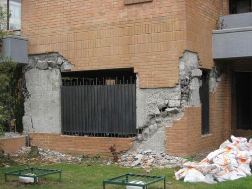 Cum se crapa zidaria de caramida la cutremur