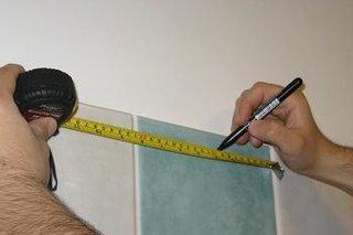 Masurare accesorii baie perdea pentru cada