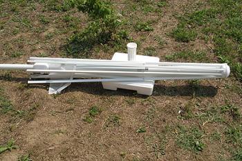 Amenajarea unei gradini | Cum se monteaza o umbrela de gradina