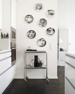 Decor alb negru pentru pereti