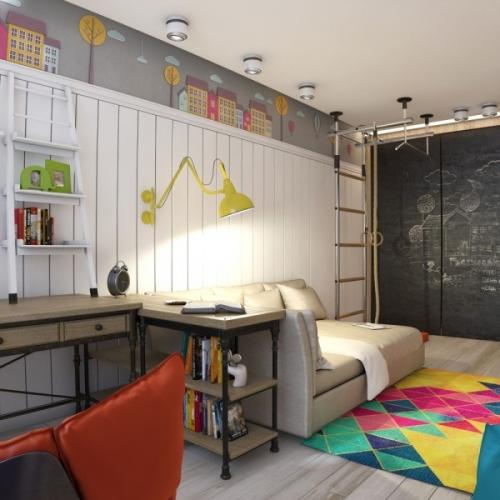 Idee amenajare si decorare camera adolescenti
