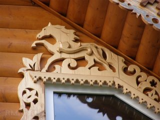 Profil decorativ de exterior pentru incadrare fereastra