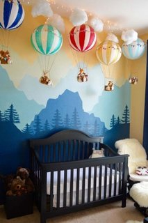 Baloane accesoriu decorativ camera copil