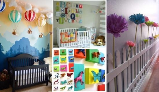 Idei decorare camera nou nascuti