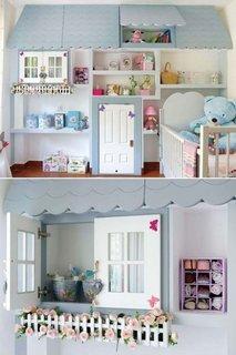 Mobila pentru camera copii in forma de cabana