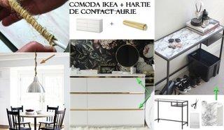 Idei transformare mobilier de la IKEA