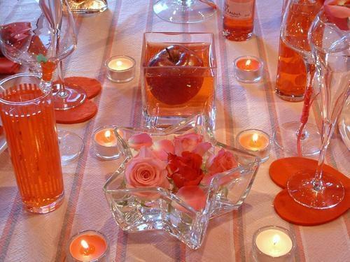 Accesorii pentru o cina romantica