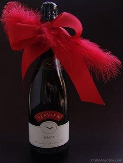 Decorarea sticlei de vin pentru ziua indragostitilor
