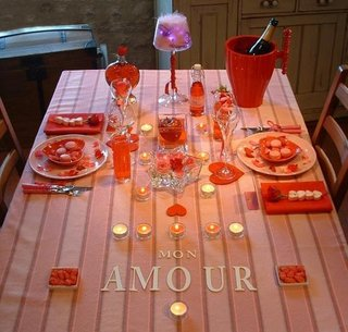 Idee pentru aranjarea unei cine romantice