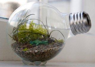 Suvenir handmade din bec reciclat