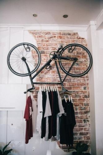Suport pentru umerase diy din bicicleta veche