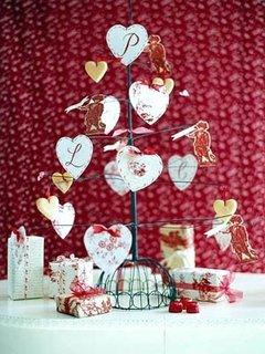 Aranjament cu felicitari pentru valentines days