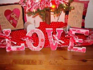 Decoratiune speciala pentru ziua de sfantul valentin