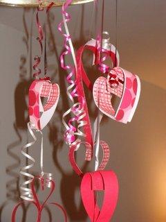 Decoratiuni cu inimioare pentru sfantul valentin