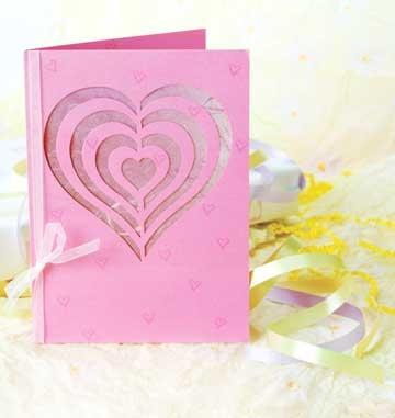 Idee de felicitare hand made pentru sfantul valentin