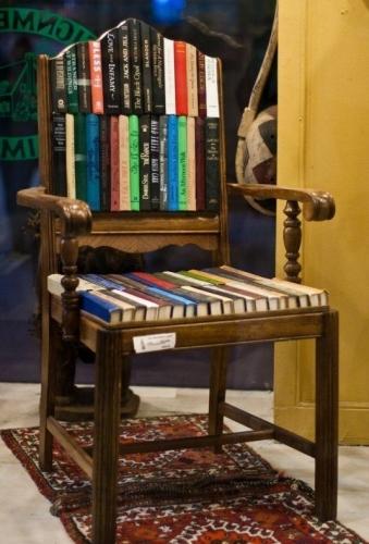 Scaun cu un aer vintage pentru living-uri
