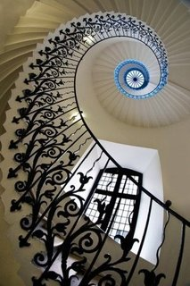 Balustrata in spirala din fier forjat