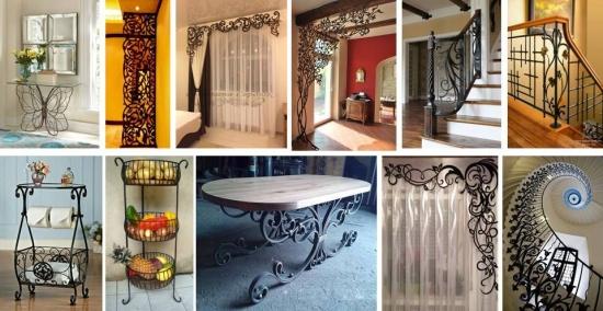 28 de idei pentru a integra fierul forjat in decorul casei