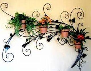 Suporturi ghivece flori din fier forjat
