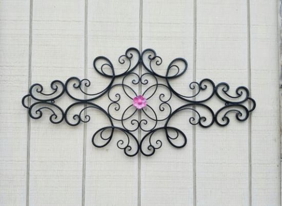 Decoratiune perete din fier forjat