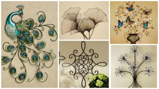 15 decoratiuni si ornamente din fier forjat pentru pereti