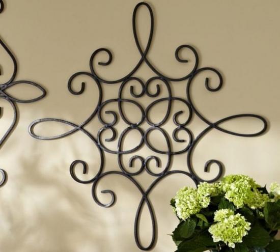 Decoratiuni elegante din fier forjat